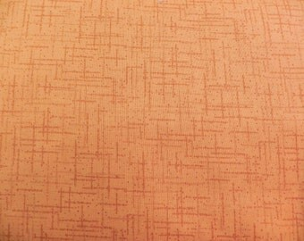 "Quilting Treasures ""Matrix"" Orange Fabric"