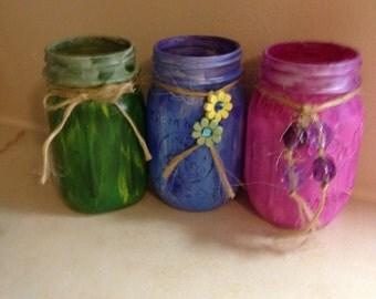 Canning Jar Votives