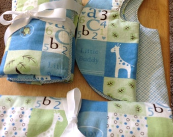 Boys Flannel Gift Set