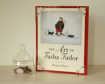 The Art of Tasha Tudor by Harry Davis. (c) 2000 Tasha Tudor Illustrations. Tasha Tudor Coffee Table Book. Art Book.