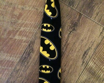 Batman Adjustable Boys Tie/Toddler Tie/ Perfect for Pictures/birthdays - fun tie for boys!