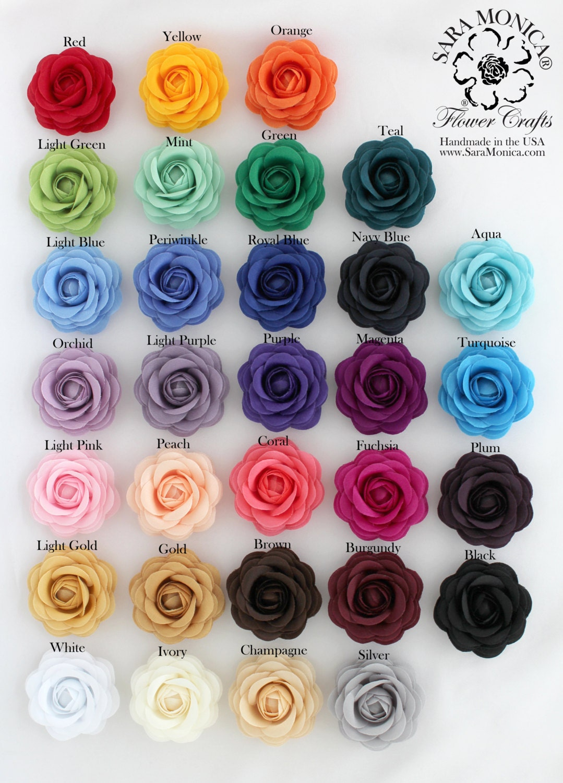 Men 39 s lapel flower satin camellia rose clutch pin for 2 color roses