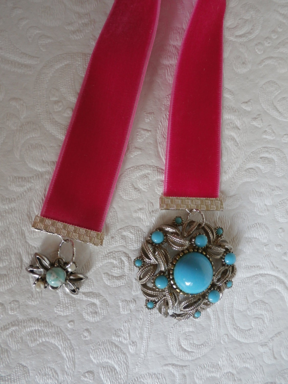 Vintage Book Marks Upcycled Costume Jewelry by Reminisce47 ...