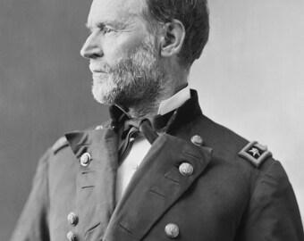 William T. Sherman - Civil War Era-   Photo Print