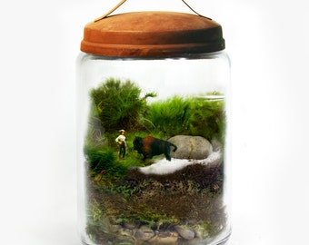 Moss Terrarium // Bison Whisperer