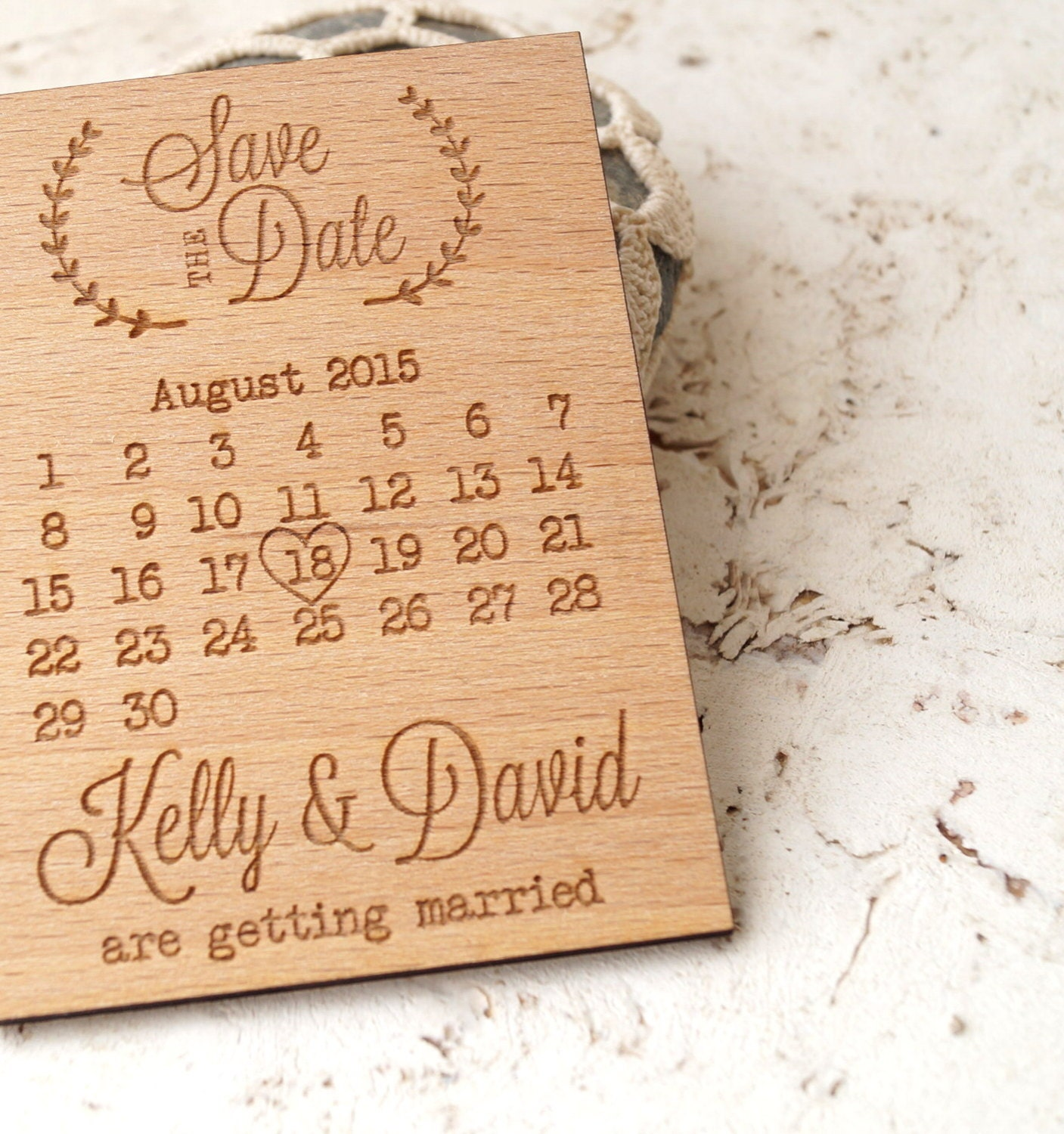 Magnetic save the dates in Australia