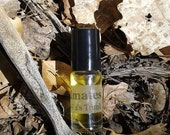 Infection fragrance (Spanish moss, fig, benzoin, dirt, salt, cypress, oud)