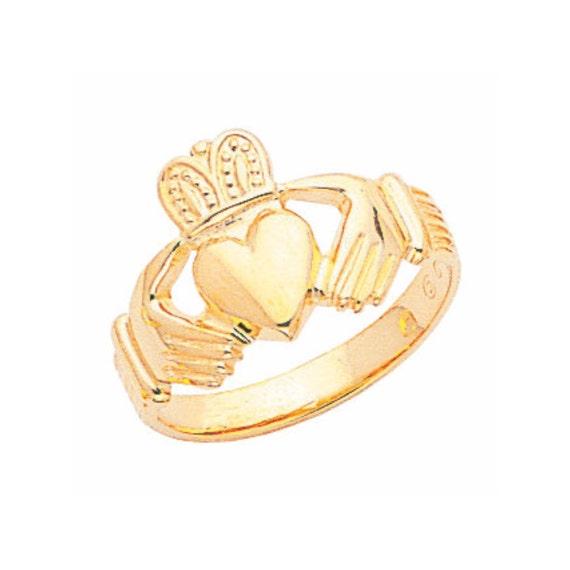 14k gold claddagh ring s claddagh ringirish ring