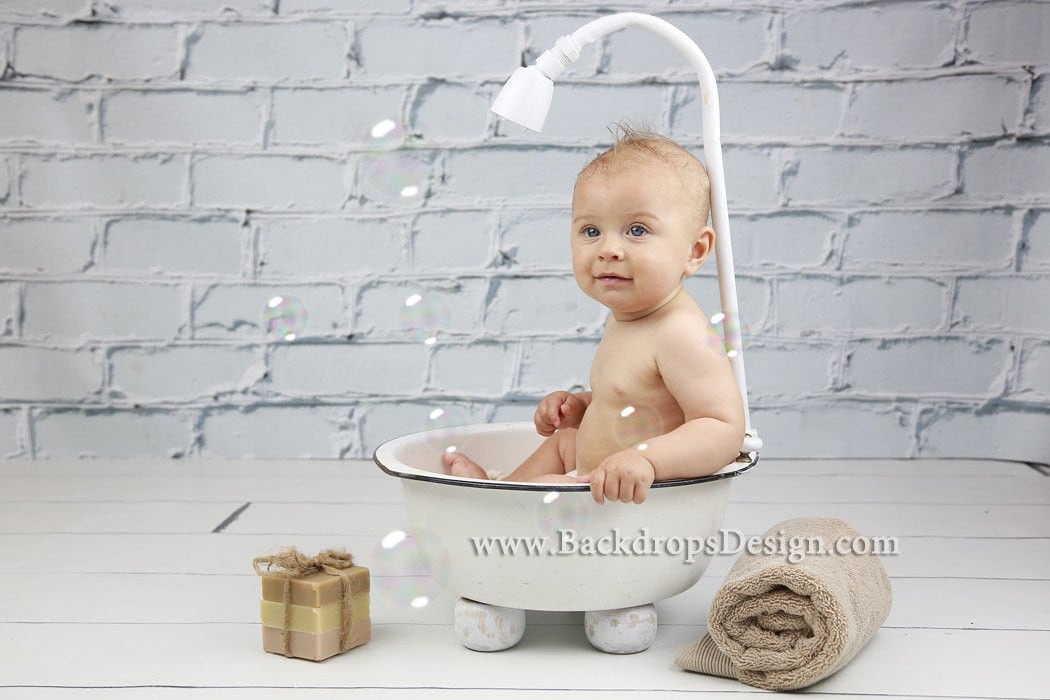 photography prop baby girl or boy bathtub newborn up to 6. Black Bedroom Furniture Sets. Home Design Ideas