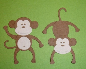 Monkey Die Cuts