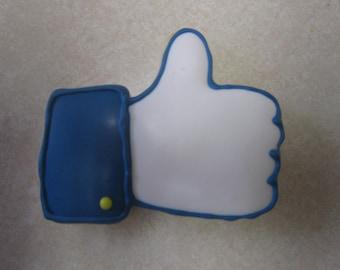 Thumbs Up Fan Art Cookie