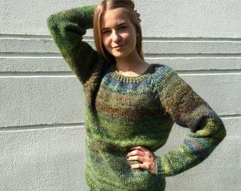 Fair isle pullover alpaka pullover damen pullover hand von adalv - Fair isle pullover damen ...