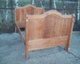 Vintage Pine French Style Bed Frame