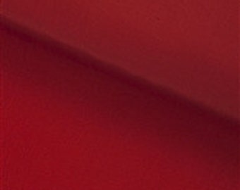 "1 meter Claret Red Silk Lining Fabric , width 27,5"""