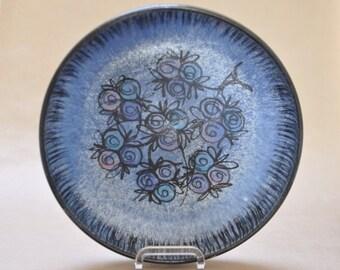 Bangholm large stoneware bowl - Danish pottery - Scandinavia - Denmark
