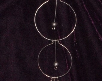 Far Out - Space Age, 1960's Necklace & Earrings Set