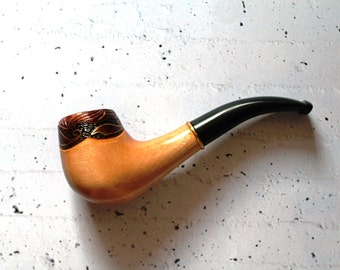 "Smoking Pipe ""Sadco"" , Tobacco Pipes, Smoking bowl, wood smoking bowl, Tobacco bowl. Wooden Pipes, Hand Carved Tobacco Wood Pipes"