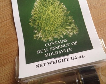 Moldavite mineral oil