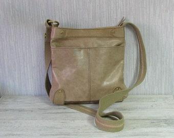 Vintage leather Small crossbody bag, womens  handbag, everyday handbag