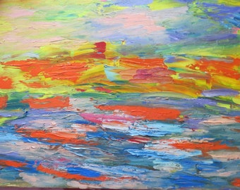 Abstract Art Canvas Painting