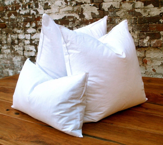 Feather down pillow inserts for Best down pillow inserts