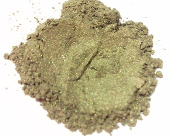 WILD MOSS Mineral Eyeshadow - Pure Natural Eye Color - Shimmery Eye Shadow Mineral Makeup