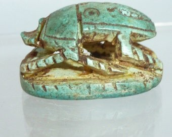 Vintage Egyptian Revival Scarab Beetle