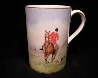Royal Crown Derby English Hunting Scene Mug #1700916