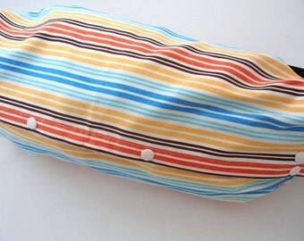 BABY CARRIER Bag--For Ergo Baby,Tula,Mei Tai,Beco,Boba,Manduca,Baby Carrier Case,Multi Color Stripes,Storage of Baby Carrier,Sack Bag