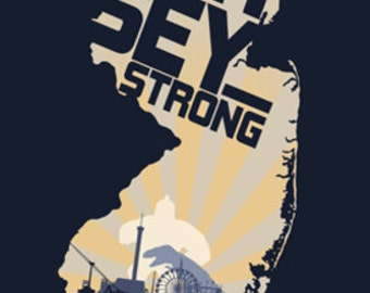New Jersey - Jersey Strong (Art Prints available in multiple sizes)
