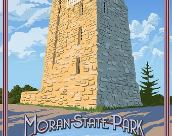 Moran State Park Etsy