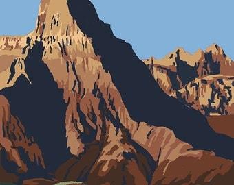Badlands National Park, South Dakota (Art Prints available in multiple sizes)