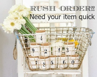 Rush Order - Need your item quick