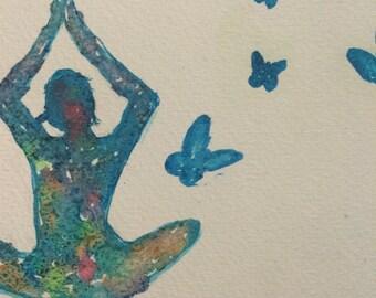 Yogi butterfly