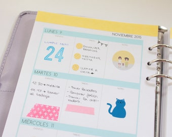 Agenda Clear Colours 2015-2016 (16 meses)