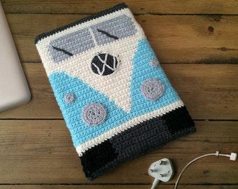 "CROCHET PATTERN - VW Campervan Sleeve for 13"" MacBook Pro"