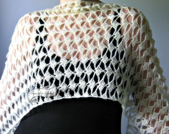 Lace Shawl Shells Wrap