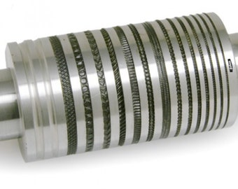 80mm Rolling Mill Pattern Roll Design # 54 From 0.8. to 3.5mm Wide Jewelry WA 303-003-54