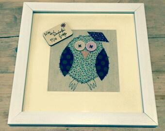 Graduation Owl, Best teacher Owl, Congratulations , Retirement owl,