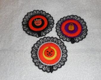 Halloween Magnets - Set of 3