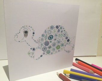 Personalised  Birthday Greeting Cards Cute Characters
