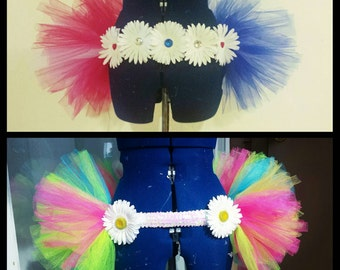 Tutu Bustle (made to order in any colors and size)