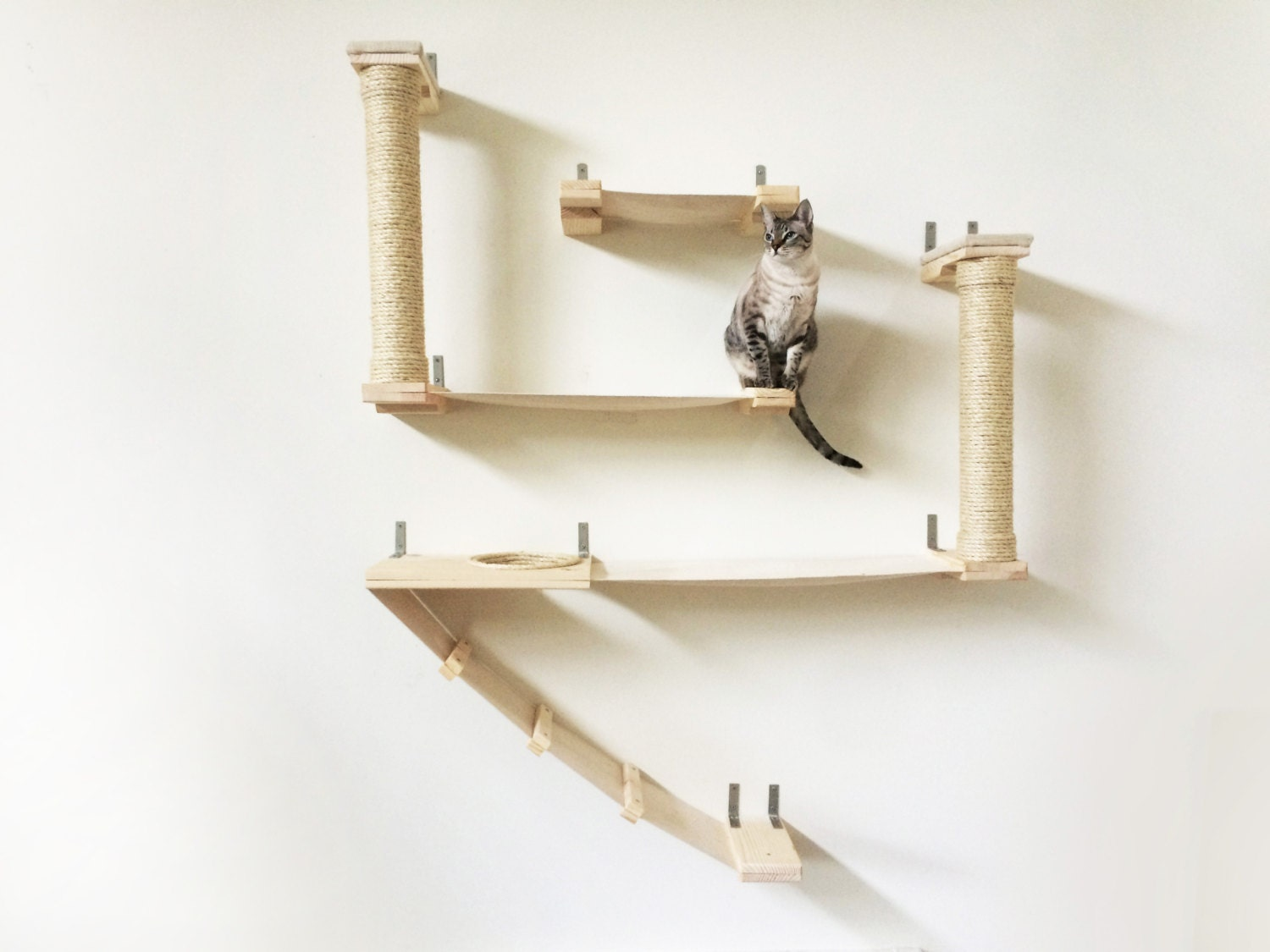 The Roman Cat Fort Cat Hammock Shelves Free Us Shipping