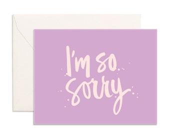 I'm So Sorry Greeting Card