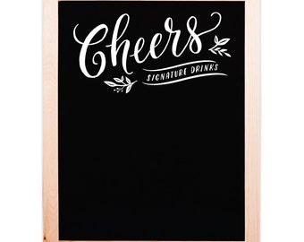 Cheers Chalkboard