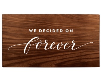 Forever Welcome Sign