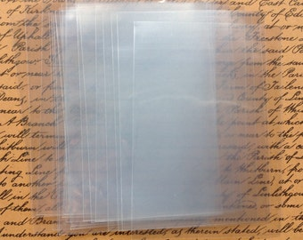 25 ATC Clear Storage Sleeves - Wallets - Bags - Swap - Store - Protect