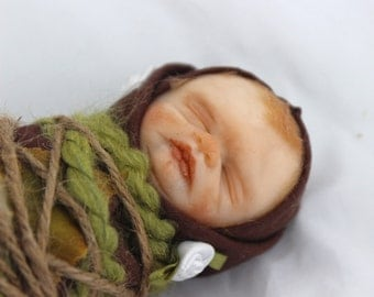 OOAK Baby Fairy Bundle: Hand Sculpted Art Doll