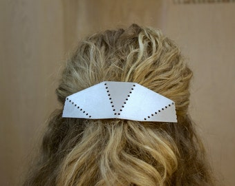 Dotted Lines Hair Clip