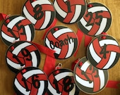 Volleyball Pack Tags